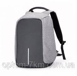 Рюкзак Bobby bag черный серый 1413  VJ
