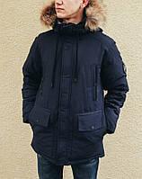 Зимняя куртка INDACO IC672CF Темно-синий, фото 1
