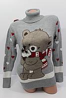 Шерстяні жіночі светри з гарними малюнками оптом і в роздріб G 4596 c90d8bec1312b