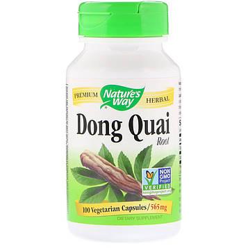 Natures Way, Dong Quai, Root, 565 mg, 100 Vegetarian Capsules