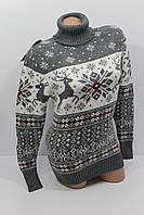 Шерстяні жіночі светри з оленями та орнаментом оптом і в роздріб G 4604 1926e06aa3a86