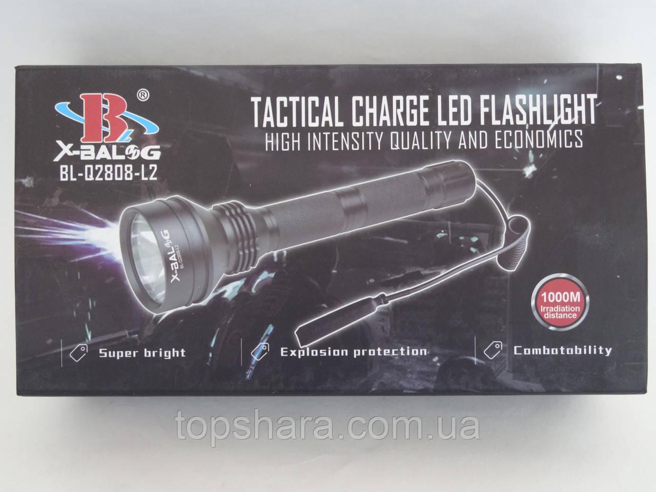 Тактический подствольный фонарь Bailong BL-Q2808 T6 на 258000W