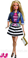 "Кукла Барби ""Модница Делюкс""  (Barbie Style Doll, Jean Jacket and Black/White Shirt)"