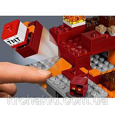 """Конструктор BELA 10808 """"Бой в нижнем мире"""" (аналог Lego Майнкрафт, Minecraft), 96 деталей, фото 3"""