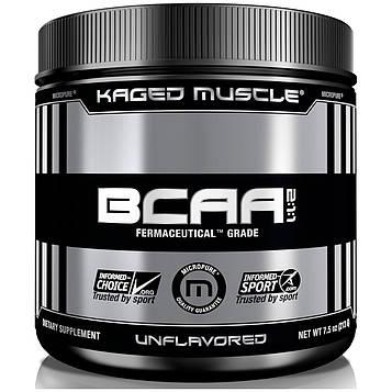 Kaged Muscle, Аминокислоты с разветвлённой цепью, без ароматизаторов, 6,4 унц. (200 г)