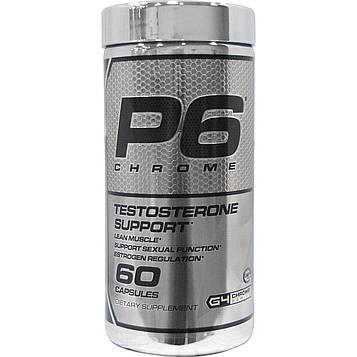 Cellucor, P6 Chrome, Testosterone Support, 60 Capsules