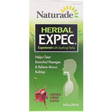 Naturade, Herbal Expec, Природный вкус вишни, 8,8 жидких унций (260 мл)