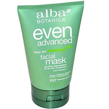 Alba Botanica, Even Advanced глубокая морская маска для лица, 4 унции (113 г)