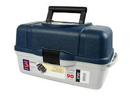 Ящик Aquatech 2703, из полипропилена, 1 большое отделение, 3 выдвижные полки, 10 съемных перегородок, 1,5 кг