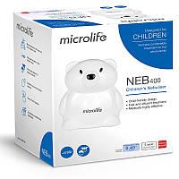 Ингалятор (небулайзер) Microlife NEB 400 для детей  компрессорный гарантия 5 лет