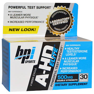 BPI Sports, A-HD Elite, 30 Capsules