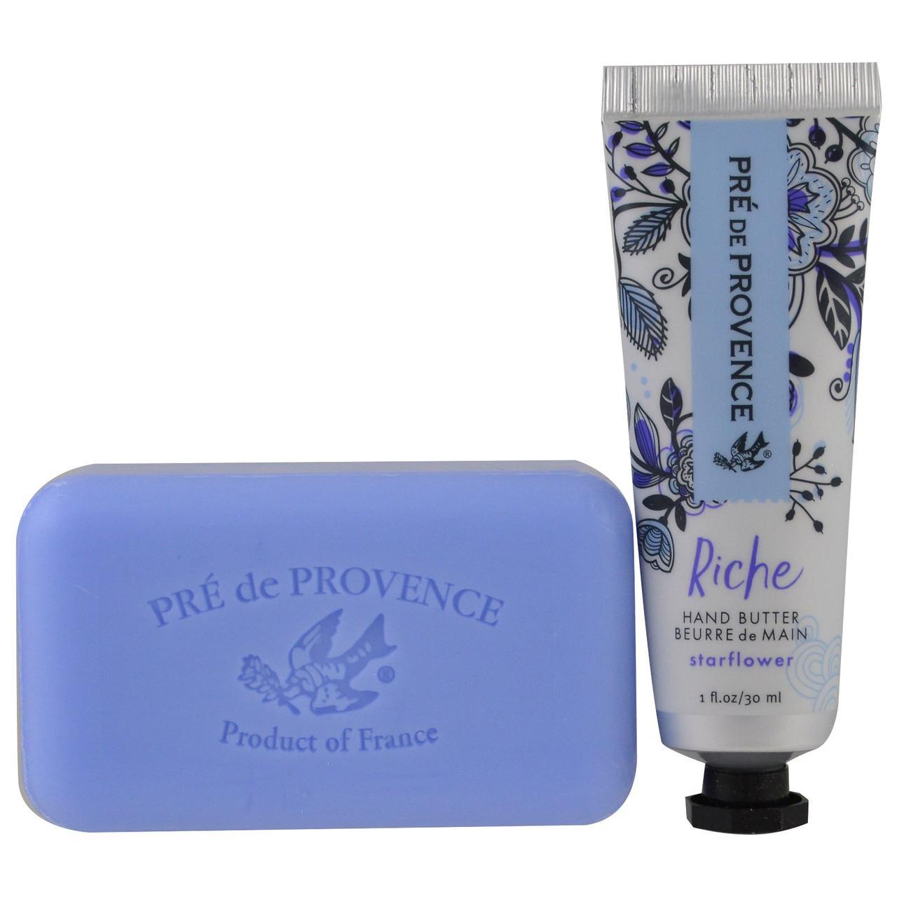 European Soaps, LLC, Подарочный набор Riche, масло для рук и мыло, седмичник, комплект из 2 предметов