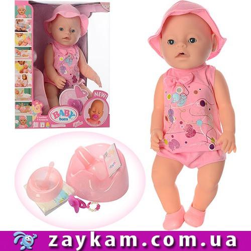 Інтерактивна лялька-пупс Baby Born (аналог) 8006-463