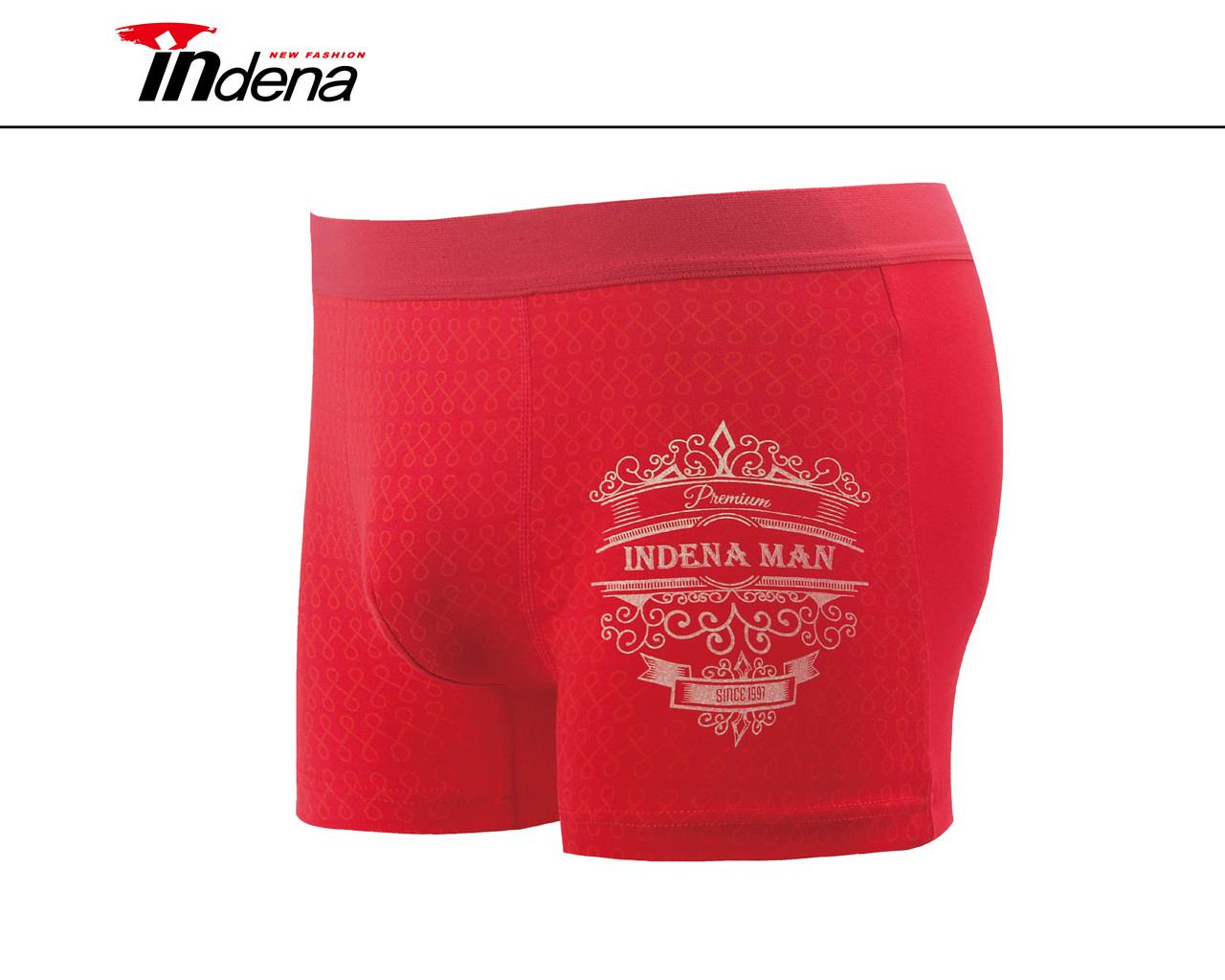 Мужские стрейчевые боксеры «INDENA»  АРТ.85030