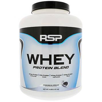RSP Nutrition, Смесь сывороточного белка, печенье и сливки, 1,81 кг