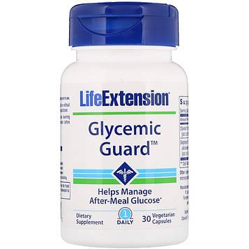 Life Extension, Гликемическая защита, 30 вегетарианских капсул