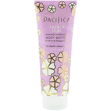 Pacifica, Body Butter, French Lilac, 8 fl oz (236 ml)