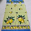 Готовое вафельное полотенце с лимонами Lemon 45х70 см