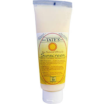 Tates, Солнцезащитный крем Природное чудо, SPF 30, 4 жидких унции