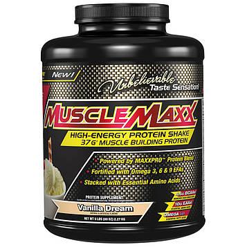 MuscleMaxx, High Energy Protein Shake, Vanilla Dream, 80 oz (2.27 kg)