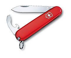 Легкий нож Victorinox 2.2303 Pocket knife, вес 40,3 гр, содержит 5 инструментов, выполняет 8 функций