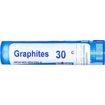 Boiron, Single Remedies, Графит, 30C, 80 гранул
