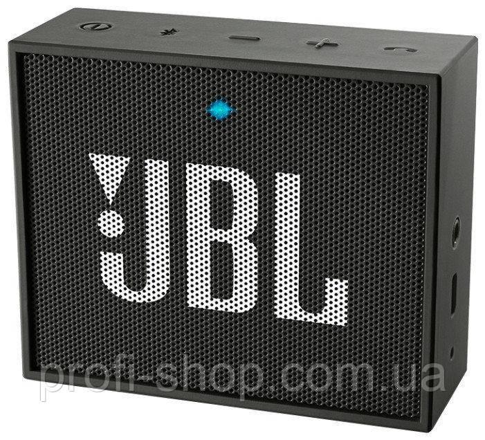 Портативная акустика JBL GO Оригинал. Черный. Black