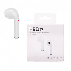 Bluetooth-гарнитура HBQ i7 one white , фото 2