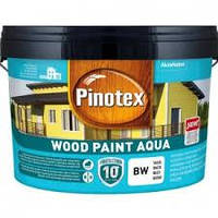 Краска на водной основе для деревянных фасадов Pinotex Wood Paint Aqua (желтая охра) 9 л, фото 1