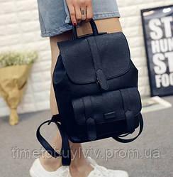 Женский стильный рюкзак Toposhine  Чёрный