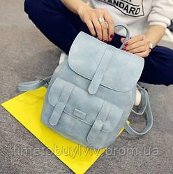 Женский стильный рюкзак Toposhine  Голубой