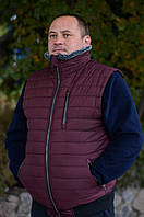 """Флисовая,теплая кофта+жилет в подарок-30%.Для мужчин больших размеров.Набор Реплика """"Tommy Hilfiger """""""