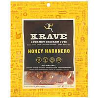 Krave, Gourmet Chicken Cuts, Honey Habanero, 2.7 oz (76 g)