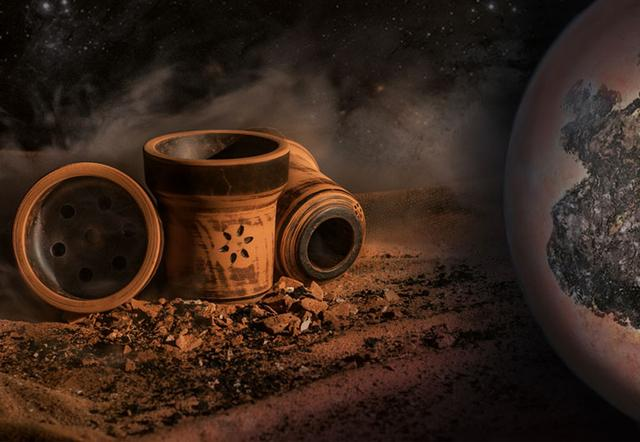 Глиняная чаша Solaris Pluto