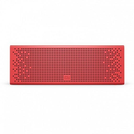 Портативная колонка Mi MiJia Bluetooth Speaker (Red)