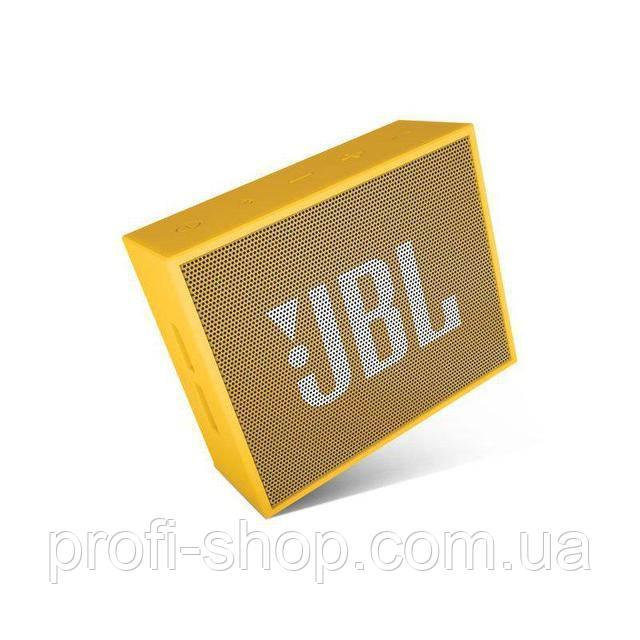 Портативная акустика JBL GO Оригинал. Yellow. Желтый