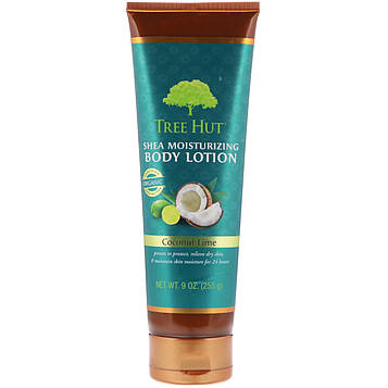 Tree Hut, Shea Moisturizing Body Lotion, Coconut Lime, 9 oz (255 g)