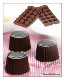 "Форма для шоколада ""Пралине"" Ø 30 мм h 18,5 мм Silikomart"