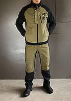 Мужской спортивный костюм Reebok зима/флис