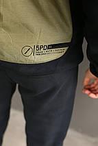Мужской спортивный костюм Reebok зима/флис, фото 3