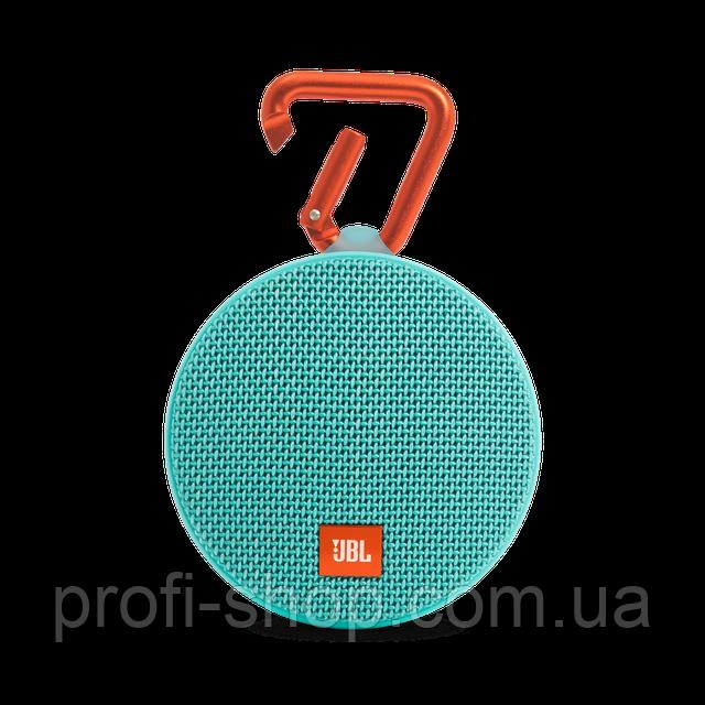 Портативная акустика JBL Clip 2 Оригинал. Teal. Бирюза