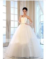 Свадебное платье без брителек, фото 1