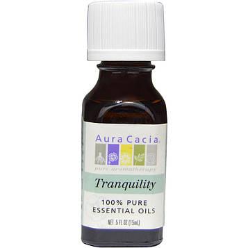 Aura Cacia, 100% натуральное эфирное масло, Спокойствие .5 жидких унции (15 мл)