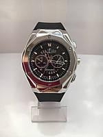 Мужские наручные часы Hublot (Хаблот), серебристый корпус