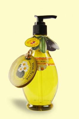 Фито-мыло Антибактериальное с оливковым маслом и ромашкой 400мл VivaOliva (1767), фото 2