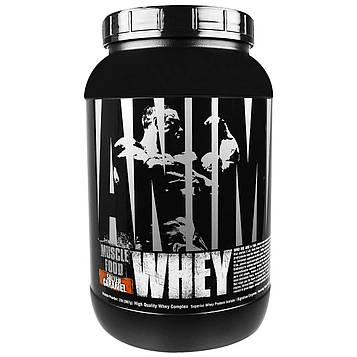 Universal Nutrition, Animal, сыворотка, питание мышц, соленая карамель, 2 фунта (907 г)