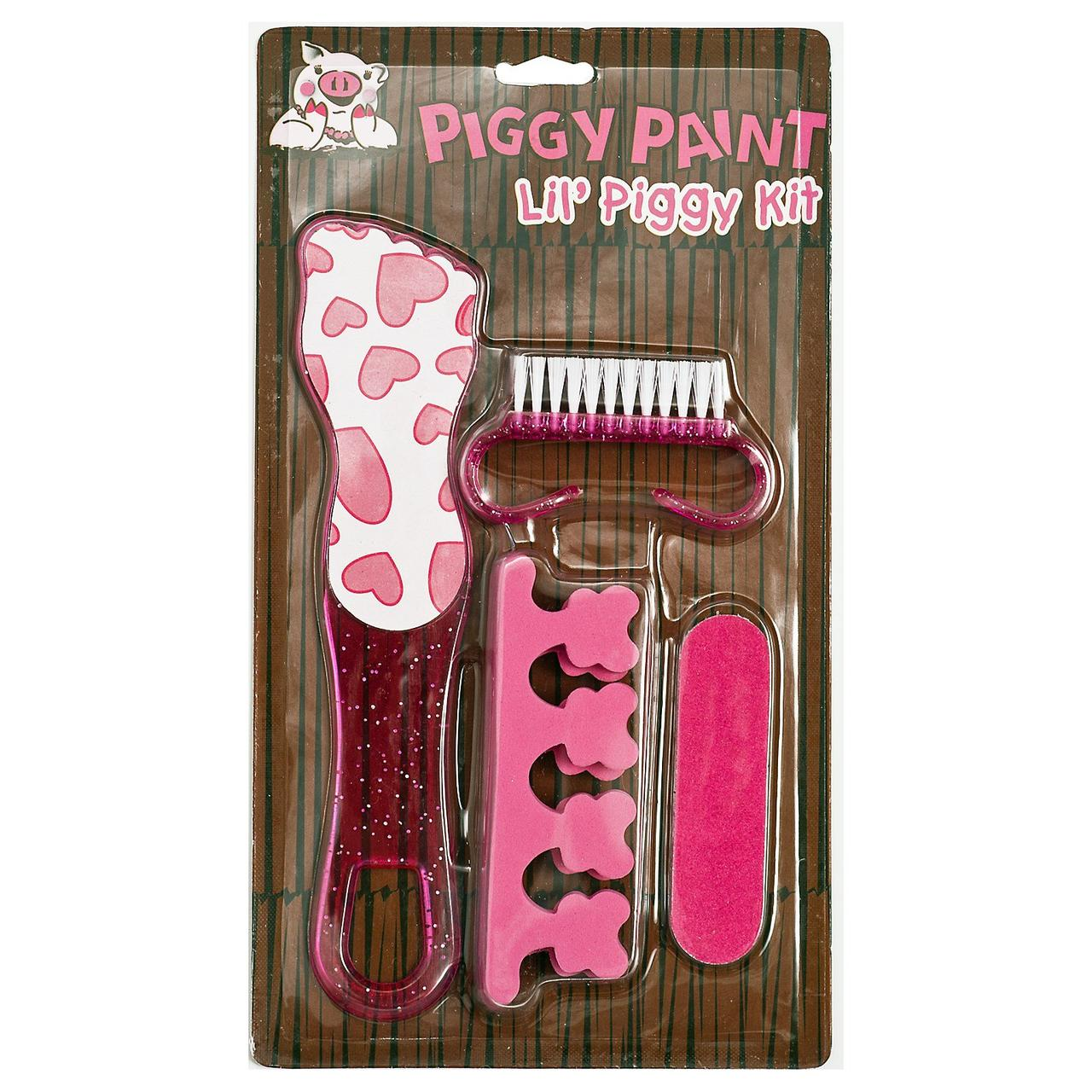 Piggy Paint, Набор Lil Piggy, Комплект из 4 предметов