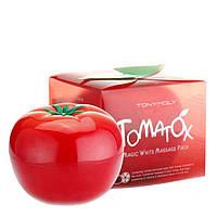 Осветляющая и выводящая токсины маска TONY MOLY Tomatox Magic White Massage Pack80 грамм