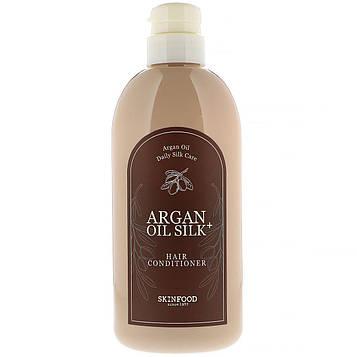 Skinfood, Argan Oil Silk Plus, Hair Conditioner, 16.09 fl oz (500 ml)