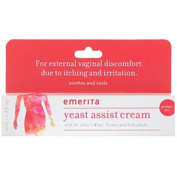 Emerita, Крем с дрожжами Yeast Assist, 28 г (1 oz)